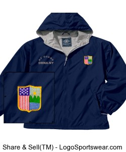 Adult Full Zip Front Portsmouth Jacket by Charles River Design Zoom